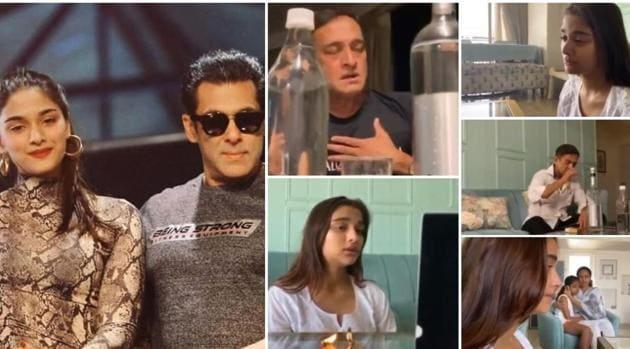 Salman Khan shared a coronavirus awareness video starring Saiee Manjrekar.