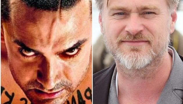 Christopher Nolan accepted he had heard of Aamir Khan's Ghajini.