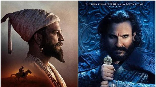 Tanhaji The Unsung Warrior stars Ajay Devgn, Saif Ali Khan, Kajol and Sharad Kelkar in prominent roles.