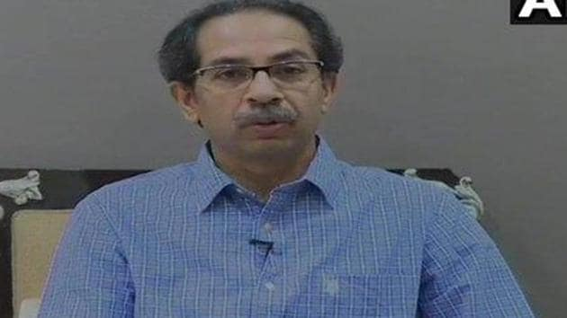 Maharashtra CM Uddhav Thackeray ordered that the lockdown in the state will continue April 30, 2020.(ANI Photo)