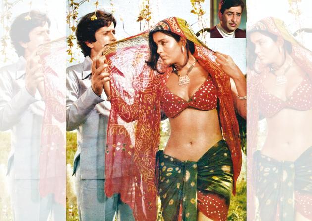 Raj Kapoor's (inset) Satyam Shivam Sundaram starring Zeenat Aman and Shashi Kapoor attracted attention as skin show was rare at the time(Photo: Alamy)