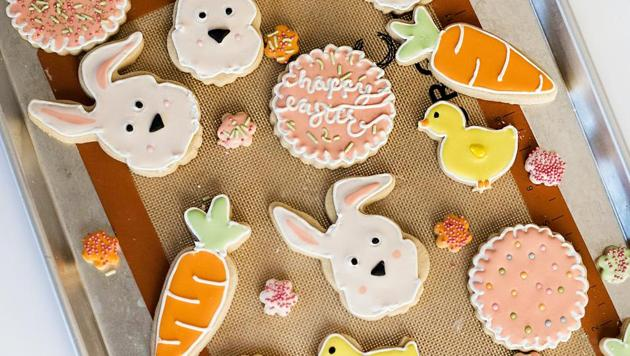 Popular symbols associated with Easter are Easter eggs, Easter lamb, Easter lilies, Easter bunnies and Easter candles.(Unsplash)