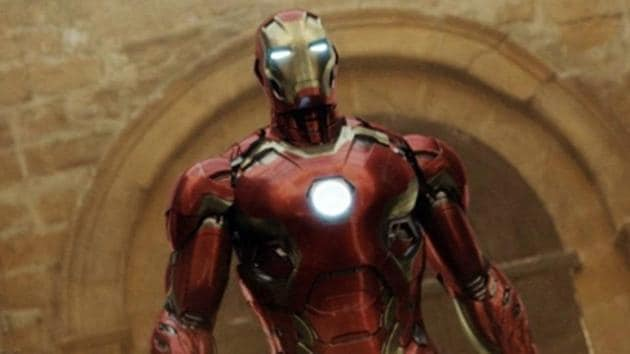 Iron Man in a still from Avengers: Age of Ultron.