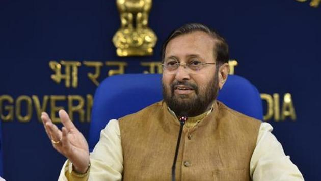 The NBWL's meeting was chaired by Union environment minister, Prakash Javadekar, via video conferencing and wildlife clearances for projects in 11 states were approved.(Sanjeev Verma/HT PHOTO)