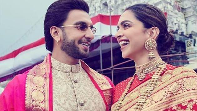 Ranveer Singh and Deepika Padukone got married in 2018.