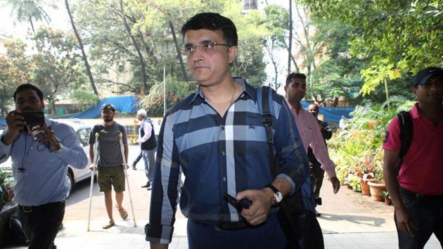 BCCI President Sourav Ganguly.(REUTERS)