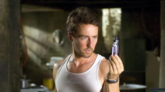 Edward Norton in a still from The Incredible Hulk.