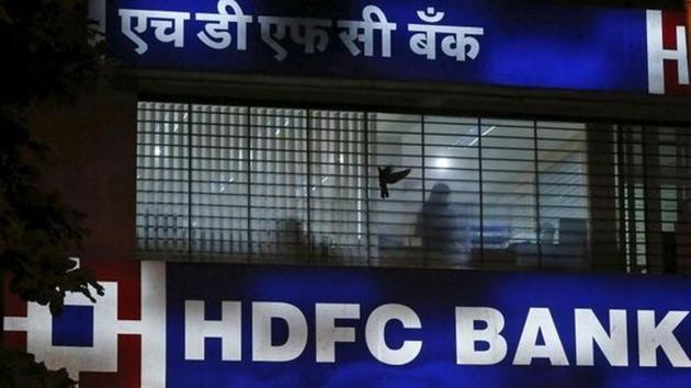 A HDFC Bank branch office in Mumbai(REUTERS File)