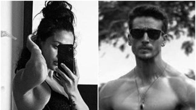 Tiger Shroff reacted to sister Krishna's new Instagram post.