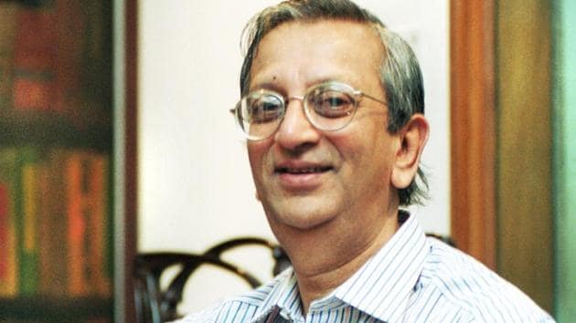 A towering personality in the legal fraternity, Ashok Desai passed away on Monday.(HT file photo)