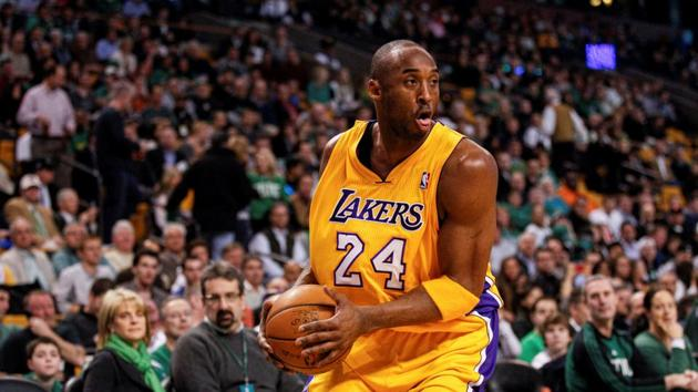 FILE PHOTO: Feb 09, 2012; Boston, MA, USA; Los Angeles Lakers shooting guard Kobe Bryant (24) on the court against the Boston Celtics at the TD Garden. Mandatory Credit: David Butler II-USA TODAY Sports/File Photo(USA TODAY Sports)