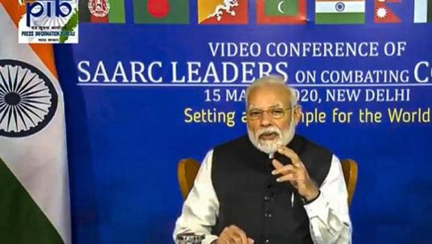 At a time when this post-Covid-19 world order appears to be in disarray, it will be tempting to expect Modi to don the Rooseveltian mantle and take the lead in building new global institutions(PTI)