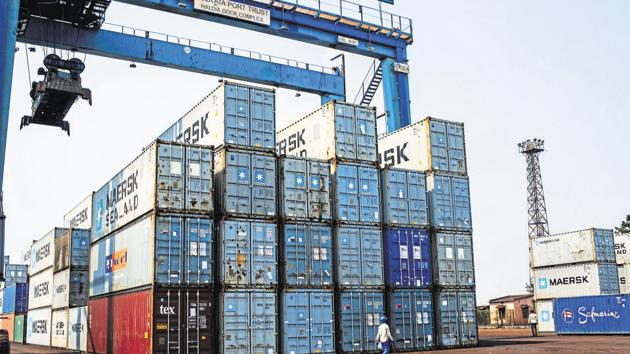 To address the snag, ports are also encouraging transportation of goods by railways.(Bloomberg file photo. Representative image)