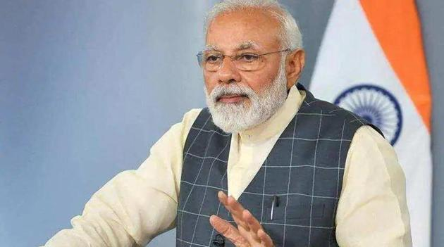 PM Narendra Modi will address Mann Ki Baat on April 26.(ANI)