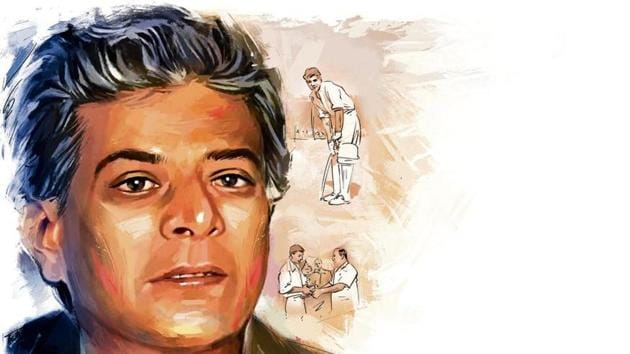 Jaisimha made his first-class debut aged 15 in the Ranji Trophy in 1954–55. He shone in domestic cricket, including the Ranji Trophy.(Illustration: Gajanan Dnyaneshwar Nirphale)