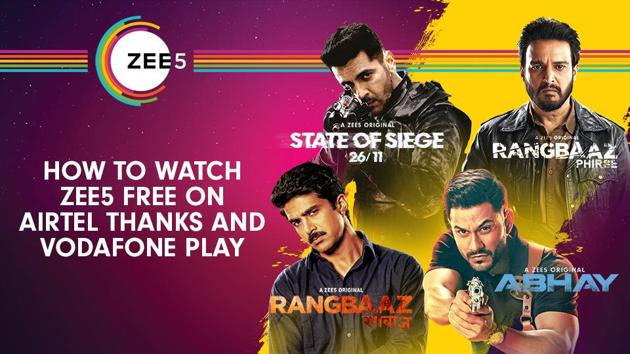 ZEE5, India's Most Desired Video Streaming Brand (named by TRA), is home to over 1 lakh hours of Original content.(ZEE5)