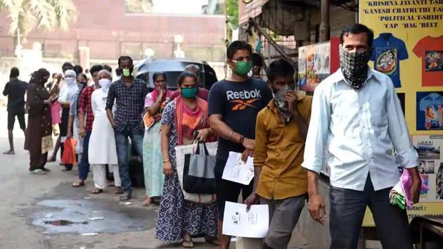 The Ministry of Home Affairs on Wednesday issued consolidated revised guidelines on coronavirus lockdown.((Satish Bate/HT Photo))
