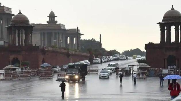 Monsoon rains are likely to be normal this year at 100% of the long-period average (LPA), the India Meteorological Department (IMD) said on Wednesday(Arvind Yadav/HT PHOTO)