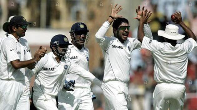 Gautam Gambhir shared the image of Chennai Test match(Twitter/Gautam Gambhir)