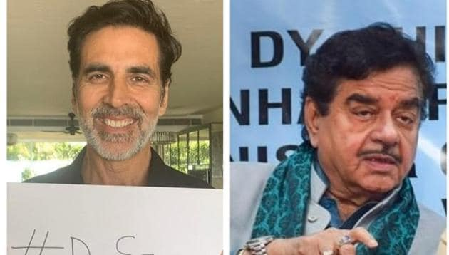 Film industry insiders criticise Shatrughan Sinha for his remarks on Akshay Kumar's donation.