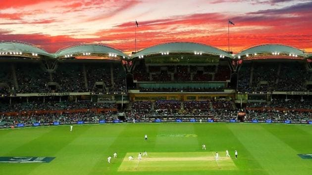 A panoramic view of the Adelaide Oval Stadium.(Adelaide Oval/Twitter)