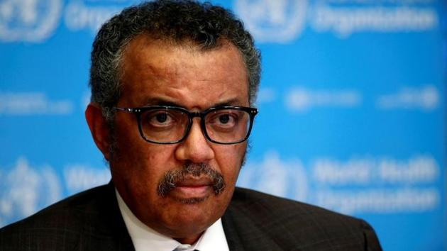 The director general, Dr Tedros Adhanom Ghebreyesus, allowed his organisation to become entangled in great power rivalry(REUTERS)