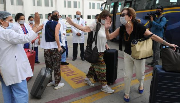 The rest of the tourists in the group have been discharged after recovery.(HT FILE)