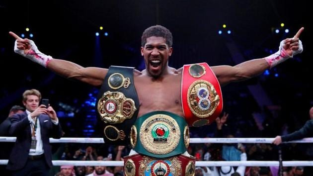 File image of Anthony Joshua.(Action Images via Reuters)
