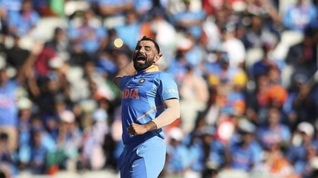 File image of Mohammed Shami.(PTI/AP)