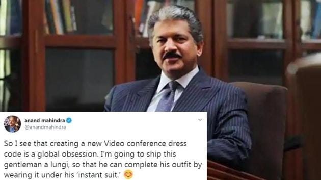 Anand Mahindra shared a hilarious video on Twitter.(Twitter/Anand Mahindra)