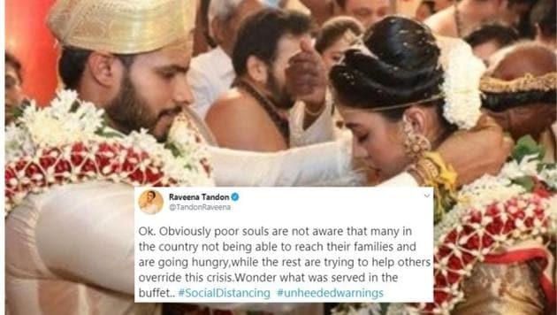 Nikhil Kumaraswamy's wedding took place on Friday.