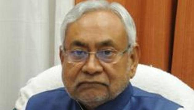 Bihar Chief Minister Nitish Kumar said that his government was making every effort to extend all possible help to those stranded outside through its resident commissioners and the disaster management department.(HT PHOTO)