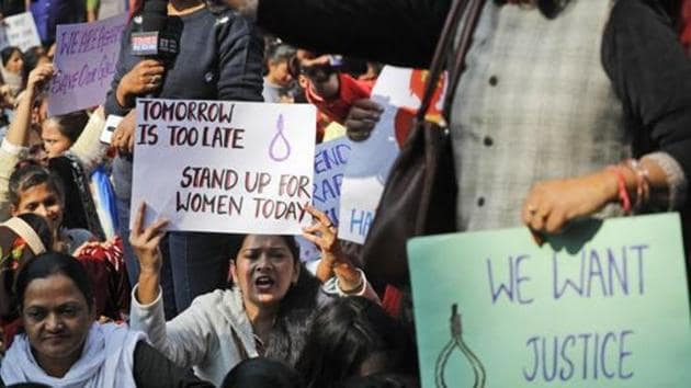 According to the police complaint filed by the woman, she was asleep when a man entered her room and raped her.(AP)