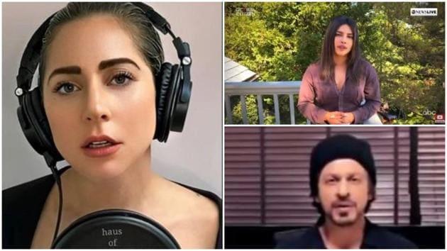 Lady Gaga put together the One World: Together at Home concert that included Priyanka Chopra and Shah Rukh Khan.