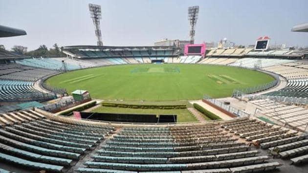 Kolkata: A view of the Eden Garden Stadium(PTI)