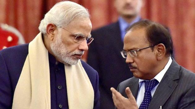 National Security Adviser Ajit Doval had convinced Prime Minister Narendra Modi and top ministers on the need for firewalls to protect Indian businesses(PTI)