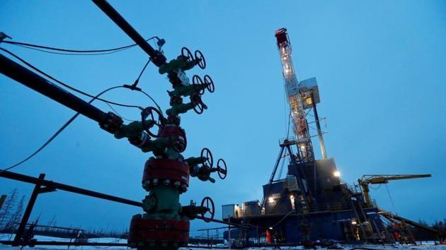 Oil plunged below $5 a barrel(REUTERS)