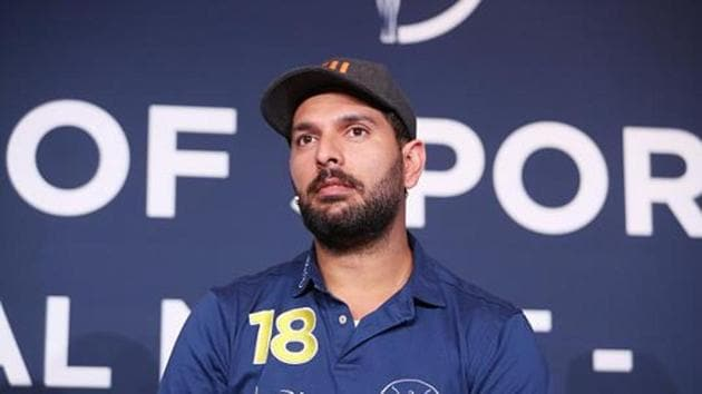 File image of Yuvrajj Singh.(Getty Images for Laureus)