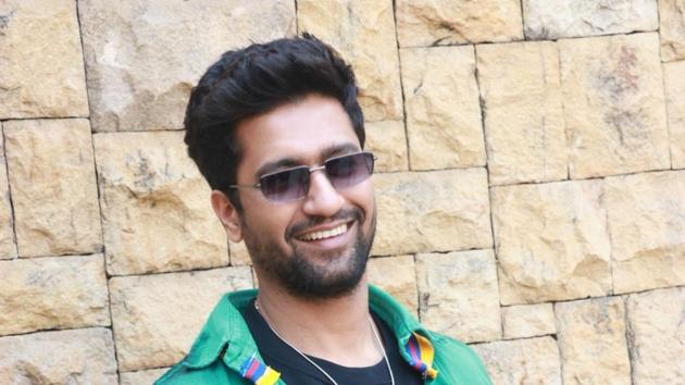 Actor Vicky Kaushal during the promotions of his film Bhoot Part One: The Haunted Ship.(IANS)
