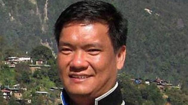 Arunachal Pradesh chief minister Pema Khandu.(PTI file photo)