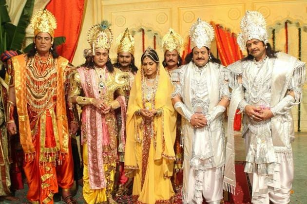 The casting for BR Chopra's Mahabharat was a very tedious process.