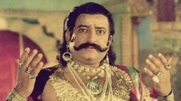 Arvind Trivedi as Raavan.