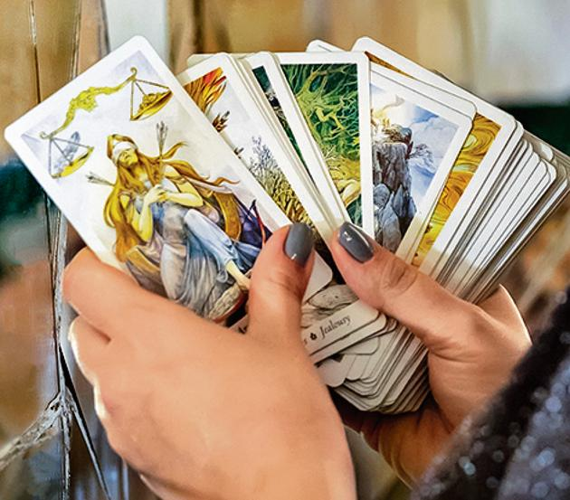 At a time when careers, businesses, and relationships have a hit a blow due to Covid-19 lockdown , tarot readers and astrologers are receiving a higher number of queries.(PHOTO: iStock)