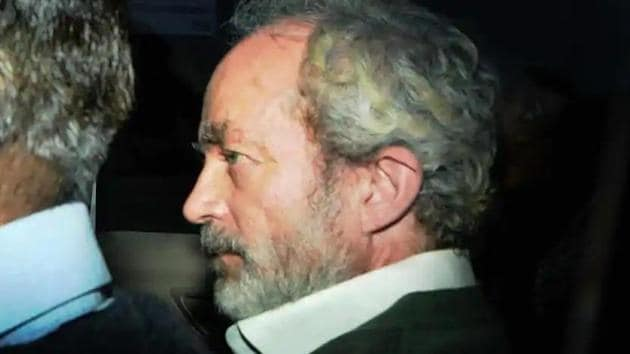 File phot of Christian Michel. (HT)