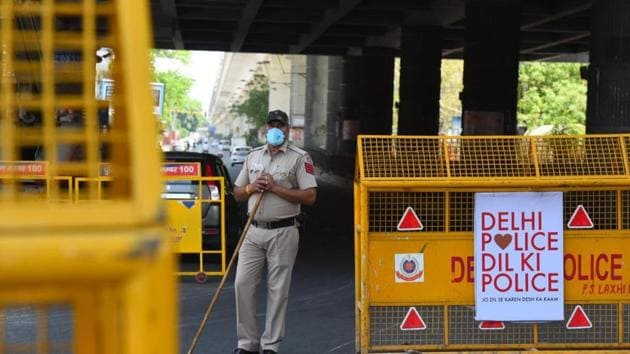 Delhi has seen a steady rise in the number of containment zones since the outbreak.(HT Photo/Raj K Raj)