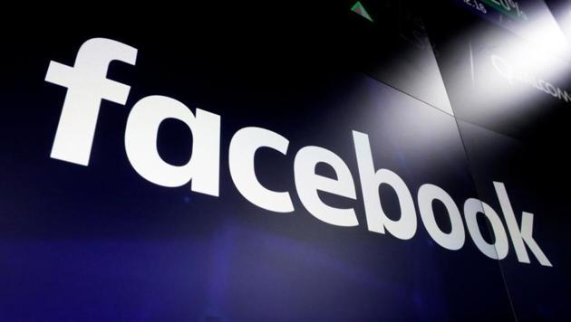 Facebook logo on screens at the Nasdaq MarketSite in New York's Times Square.(AP File Photo)