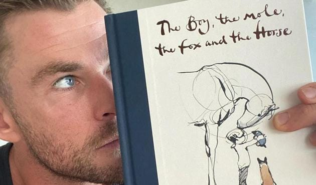 Thor actor Chris Hemsworth revisited one of his favourite books, The Boy, the Mole, the Fox and the Horse, during the lockdown.(Instagram/chrishemsworth)