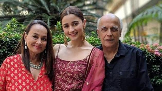 Alia Bhatt made sure her parents were safe when she visited them recently.