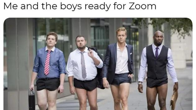 Zoom memes are leaving people in splits.(Twitter/@Funny53182966)