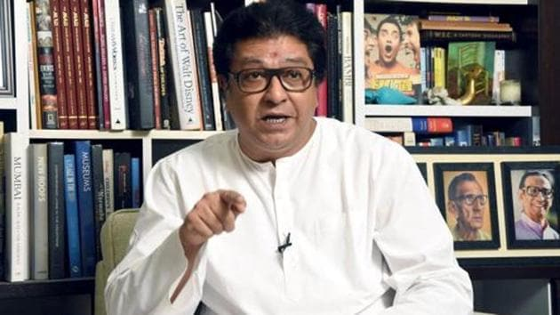 MNS Chief Raj Thackeray wrote to CM Uddhav Thackeray seeking reopening of liquor shops in the state.(ANI Photo/File)